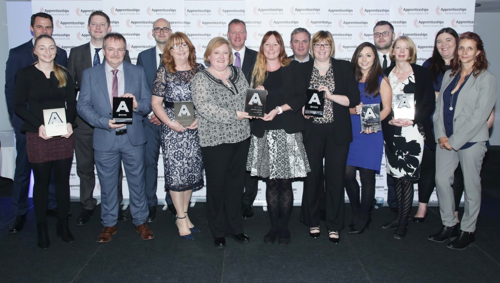 North West Regional Apprenticeship Awards 2016 Employer Winners and Highly Commended Finalists;